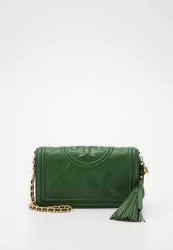 Tory Burch - FLEMING SOFT WALLET CROSSBODY - Torba na ramię - arugula