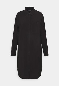 Marc O'Polo - DRESS CUFFED SLEEVE - Blusenkleid - black
