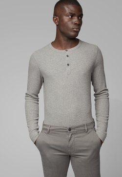 BOSS - TRIX - Pitkähihainen paita - light grey