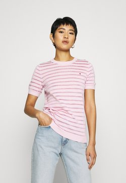 Tommy Hilfiger - BALLOU - T-Shirt print - frosted pink