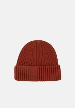 ARKET - LINA BEANIE UNISEX - Pipo - brown medium dusty