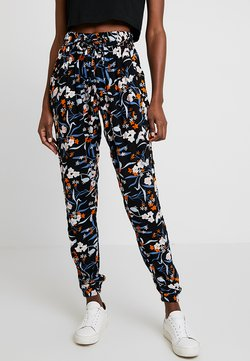 Kaffe - KAPAOLIN PANTS - Stoffhose - midnight marine
