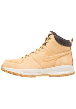 Nike Sportswear - MANOA - Nauhalliset nilkkurit - beige / marron