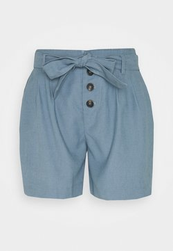 ONLY Petite - ONLVIVA EMERY BELT - Shorts - blue mirage
