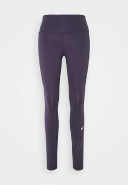 Nike Performance - EPIC LUXE - Tights - dark raisin/reflective silver