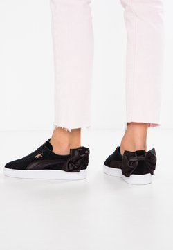 Puma - Loaferit/pistokkaat - black