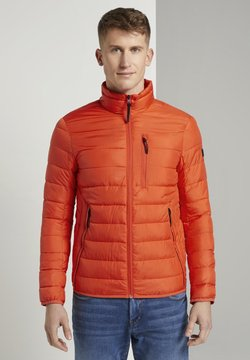 TOM TAILOR DENIM - LIGHTWEIGHT PADDED JACKET - Winterjacke - deep fiery orange