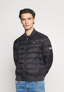 Tommy Jeans - LIGHT JACKET - Untuvatakki - black