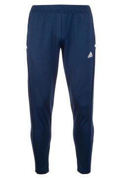 adidas Performance - TEAM 19  - Jogginghose - navy blue/white