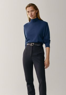 Massimo Dutti - Long sleeved top - blue