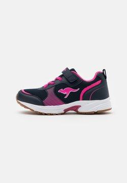 KangaROOS - NIKO II - Sneakers laag - dark navy/daisy pink