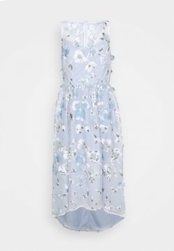 Adrianna Papell - FLORAL EMBROIDERED GOWN - Robe de cocktail - clearwater/ivory