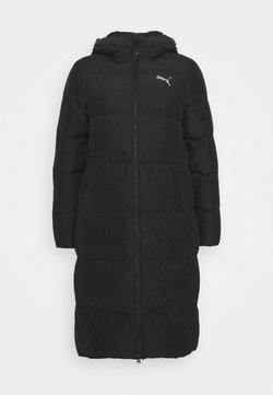 Puma - LONG OVERSIZED COAT - Untuvatakki - black