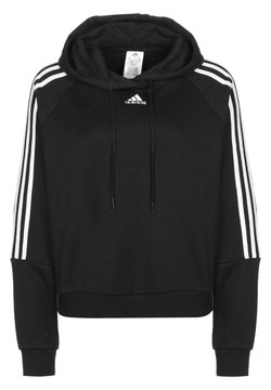 adidas Performance - Kapuzenpullover - black