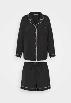 Anna Field - AMANDA SHORT SET  - Pyjama - black