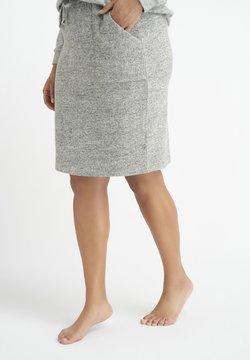 MS Mode - Bleistiftrock - light grey