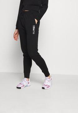 Guess - LONG PANT - Jogginghose - jet black