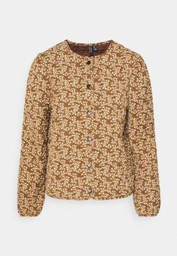 Vero Moda - VMSHIVE  - Lett jakke - tobacco brown