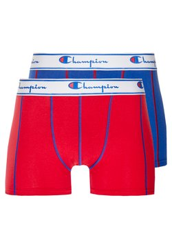 Champion - 2 PACK - Shorty - red/royal blue