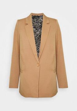 Trendyol - Krótki płaszcz - camel