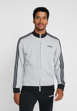 adidas Performance - ESSENTIALS SPORT COTTON TRACKSUIT - Survêtement - medium grey heather/black