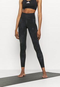 Under Armour - MERIDIAN PRINTED - Tights - jet gray