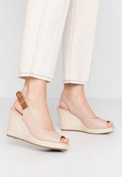 Dune London WIDE FIT - WIDE FIT KICKS  - High Heel Sandalette - blush