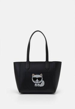 KARL LAGERFELD - CHOUPETTE TOTE - Shopping Bag - black