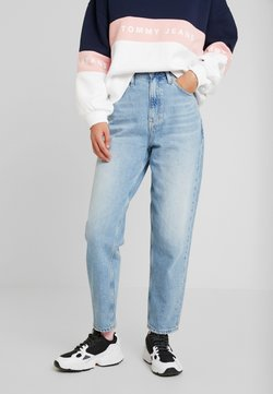 Tommy Jeans - MOM HIGH RISE TAPERED - Jeans Relaxed Fit - sunday light blue