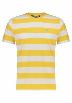 Barbour - T-Shirt print - gelb