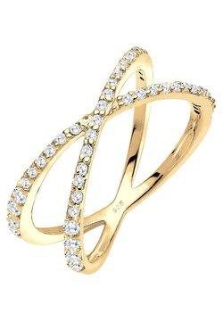 Elli - KREUZ - Ring - gold-coloured