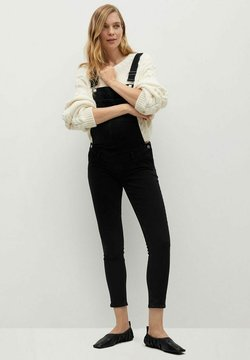 Mango - MTERNITY-I - Dungarees - black denim