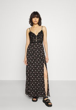 Free People - OUT ABOUT - Maxikleid - black combo