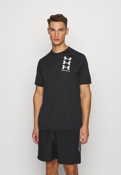 Under Armour - Camiseta estampada - black