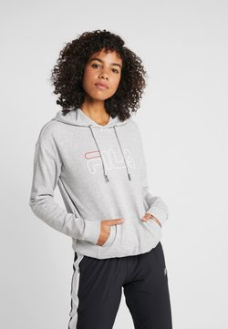 Fila - HOODY - Sweat à capuche - light grey melange