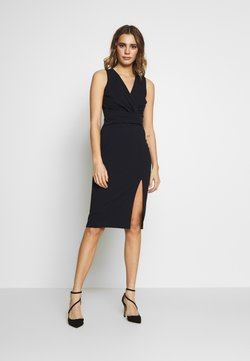 WAL G. - MIDI FITTED DRESS - Cocktailjurk - navy