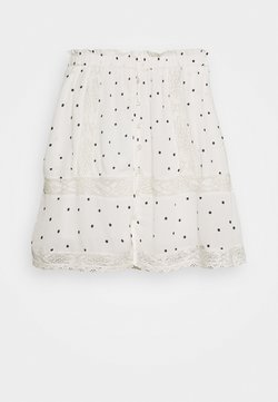 Superdry - ELLISON TEXTURED SKIRT - Spódnica mini - white