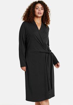 Samoon - MIT WICKEL-OPTIK - Jerseykleid - black