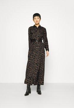 Banana Republic - MAXI SHIRTDRESS  - Długa sukienka - leopard