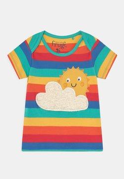 Frugi - BOBSTER APPLIQUE UNISEX - Camiseta estampada - rainbow/sun