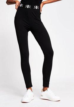 River Island - Leggings - Trousers - black