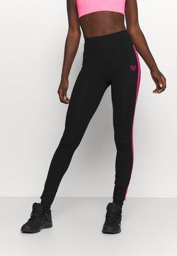 Pink Soda - TANISHA TAPE LEGGING - Tights - black