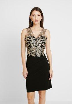 WAL G. - DETAIL DRESS - Cocktailkleid/festliches Kleid - gold/black