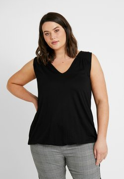 New Look Curves - HEM SLUB - Toppi - black