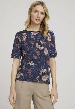 TOM TAILOR - MIT MUSTER - T-Shirt print - multi-coloured