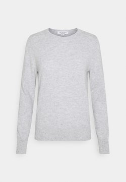 Marks & Spencer London - CREW - Stickad tröja - grey