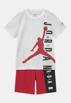 Jordan - BIG VERT SET - T-shirt imprimé - gym red