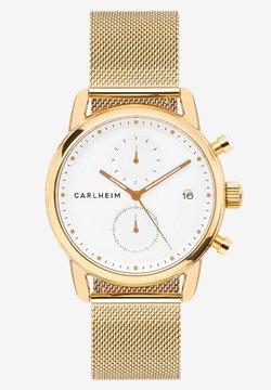 Carlheim - NICHOLAS  - Rannekello ajanottotoiminnolla - rose gold/white