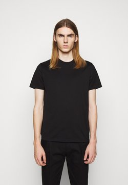 Neil Barrett - ABBREVIATION VINTAGE - Basic T-shirt - black/black
