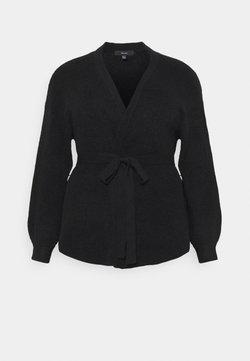 Vero Moda Curve - VMSIMONE BELT - Cardigan - black